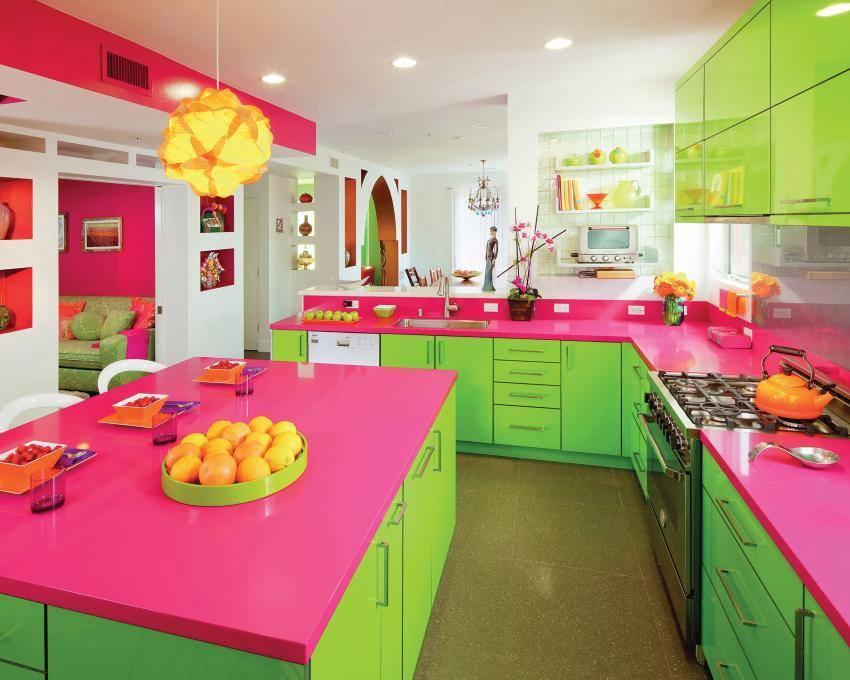 bếp màu sắc