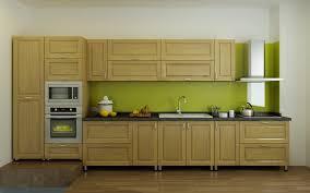 bếp màu gỗ