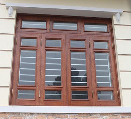 cửa sổ gỗ 4 cánh