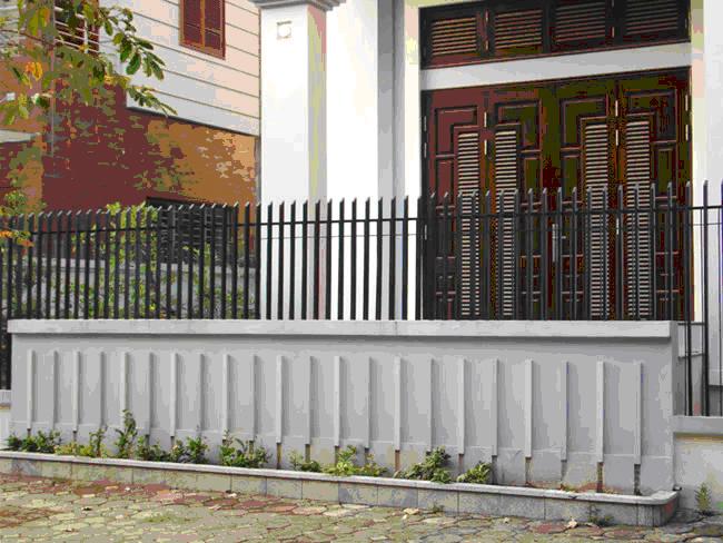 Hàng rào sắt mẫu số 3