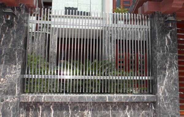 hàng rào inox mẫu 1