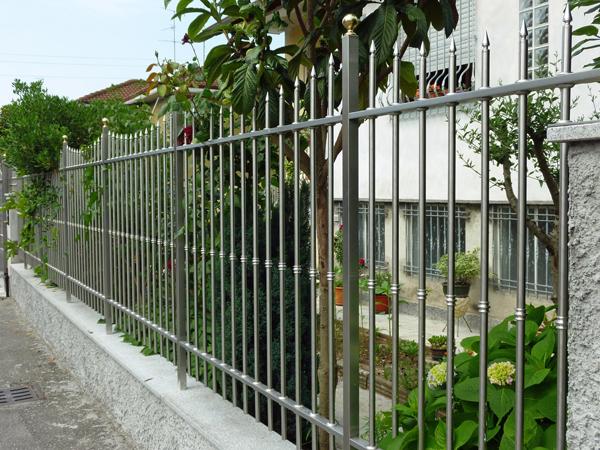 hàng rào inox mẫu 3