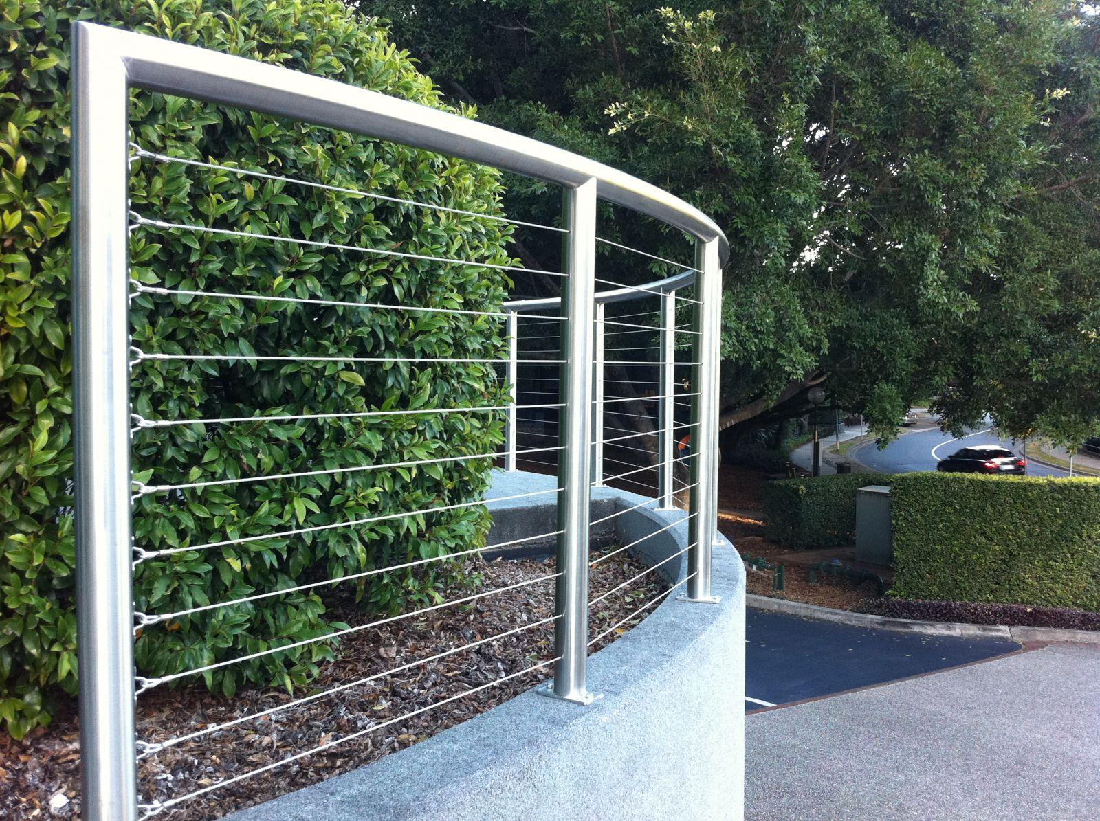 hàng rào inox mẫu 4
