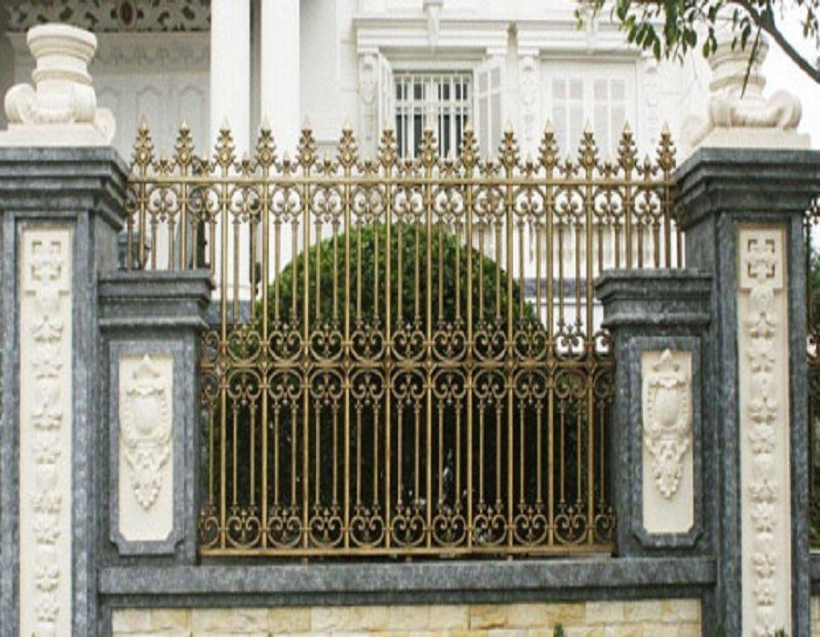 hàng rào nhôm đúc được ưa chuộng nhất