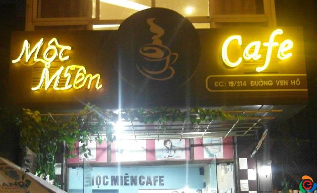 Thiết kế mặt tiền quán cafe đẹp