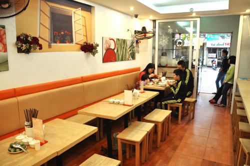 Thiết kế nhà hàng ăn uống nhỏ