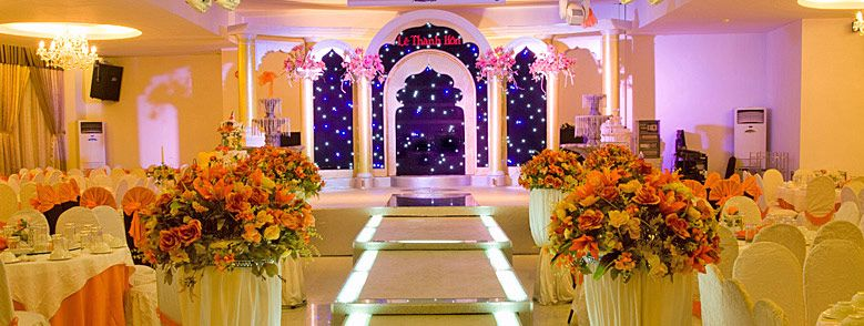Thiết kế lễ đường nhà hàng tiệc cưới