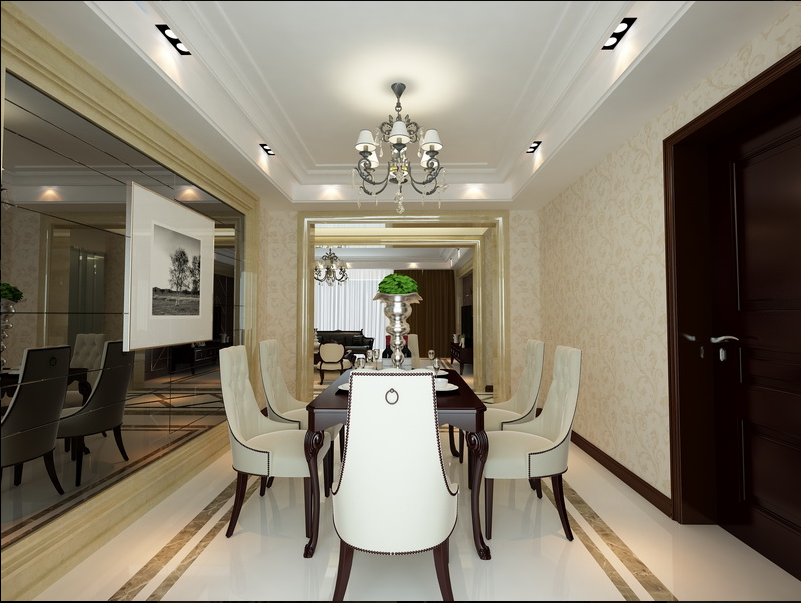 Thiết kế phòng ăn biệt thự đẹp