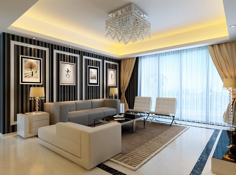 Thiết kế phòng khách hiện đại cho biệt thự