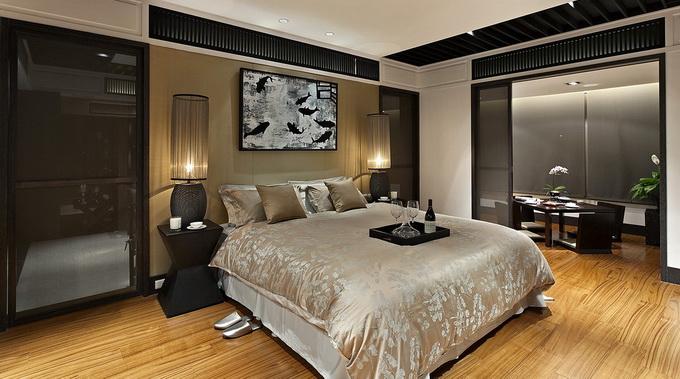 Thiết kế phòng ngủ biệt thự phong cách hiện đại