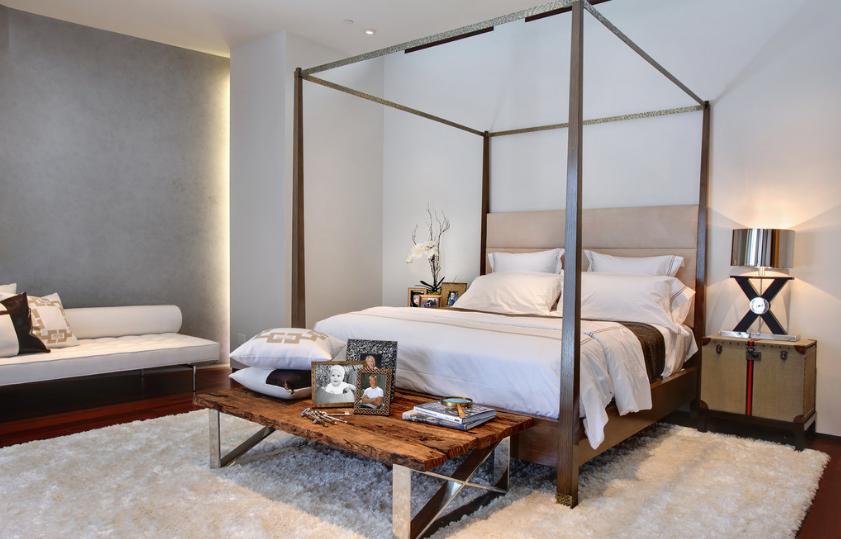 Thiết kế phòng ngủ hiện đại cho biệt thự