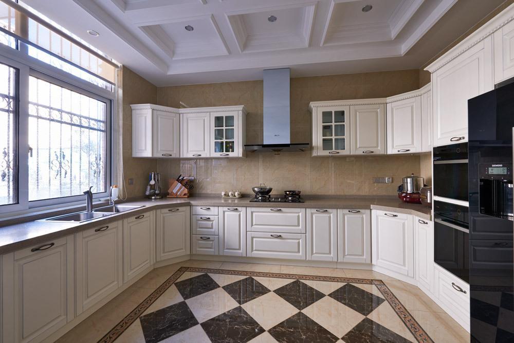 Thiết kế nội thất phòng bếp biệt thự đẹp