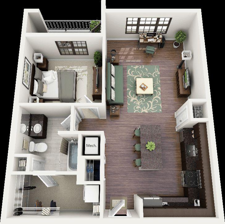 Thiết kế chung cư mini đẹp