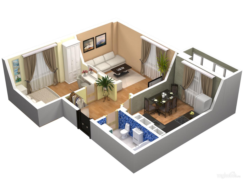 Thiết kế phối cảnh chung cư mini đẹp