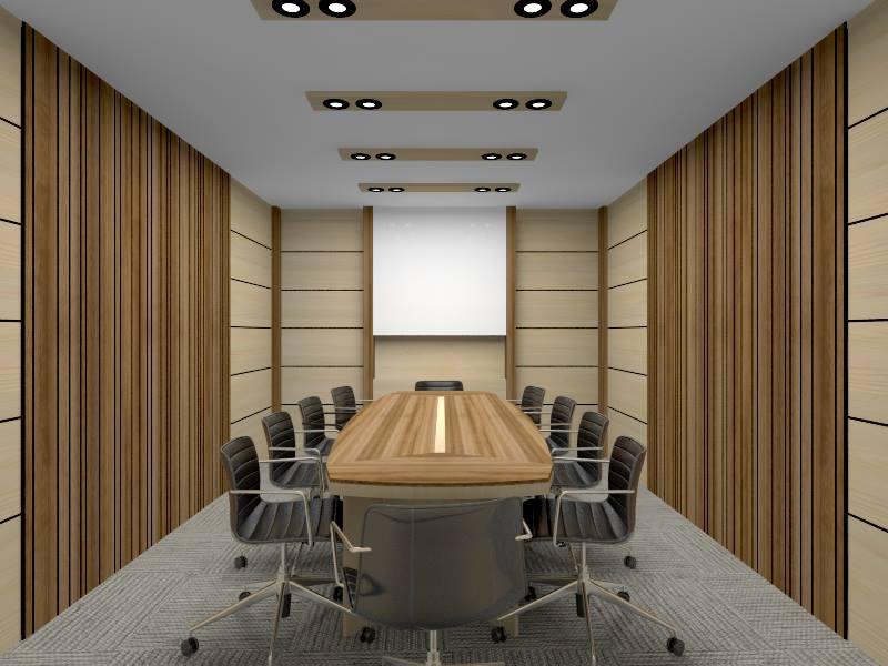 Thiết kế phòng họp văn phòng