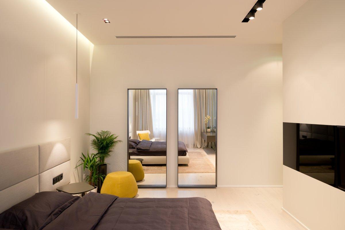 Thiết kế phòng ngủ chung cư hiện đại