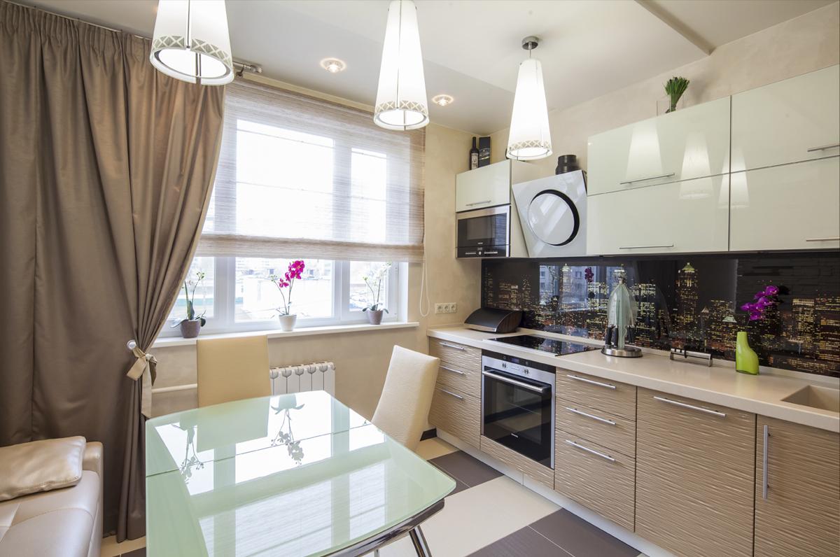 Thiết kế phòng bếp chung cư đẹp hiện đại