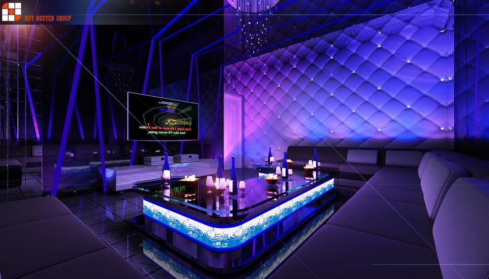Thiết kế phòng karaoke đẹp và chuyên nghiệp