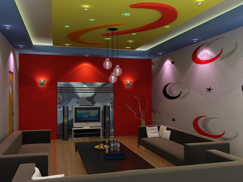 Thiết kế phòng hát karaoke gia đình ấn tượng