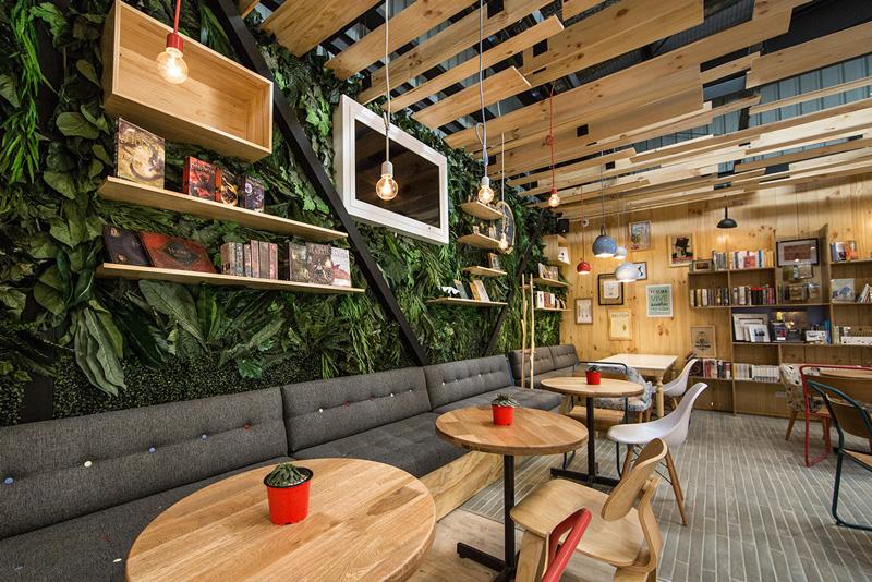 Thiết kế quán cafe đẹp và ấn tượng