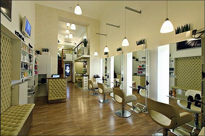 Thiết kế salon tóc đẹp