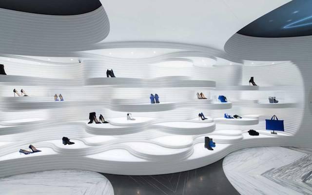 Thiết kế shop phụ kiện thời trang hiện đại