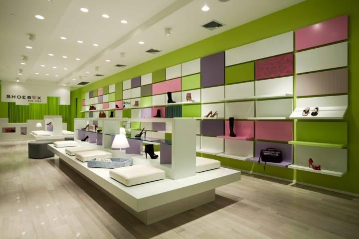 Thiết kế shop giày dép ấn tượng