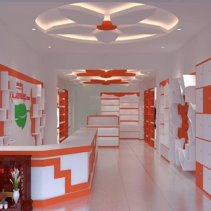 Thiết kế nội thất shop nhỏ đẹp