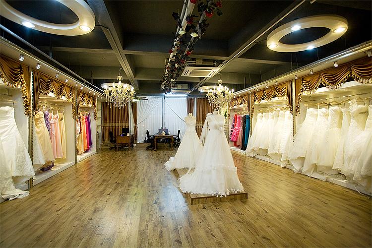 Showroom áo cưới đẹp nhất