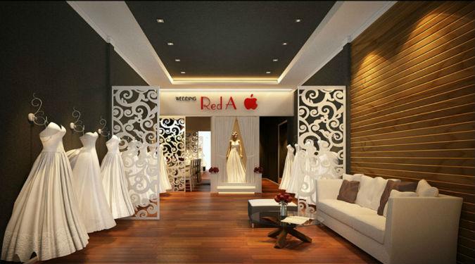 Thiết kế showroom áo cưới đẹp nhất