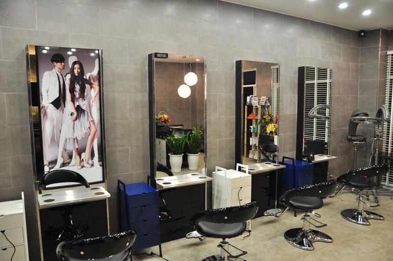 thiết kế thi công salon tóc đẹp nhất
