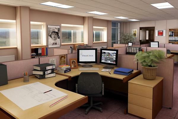 Thiết kế văn phòng làm việc đẹp