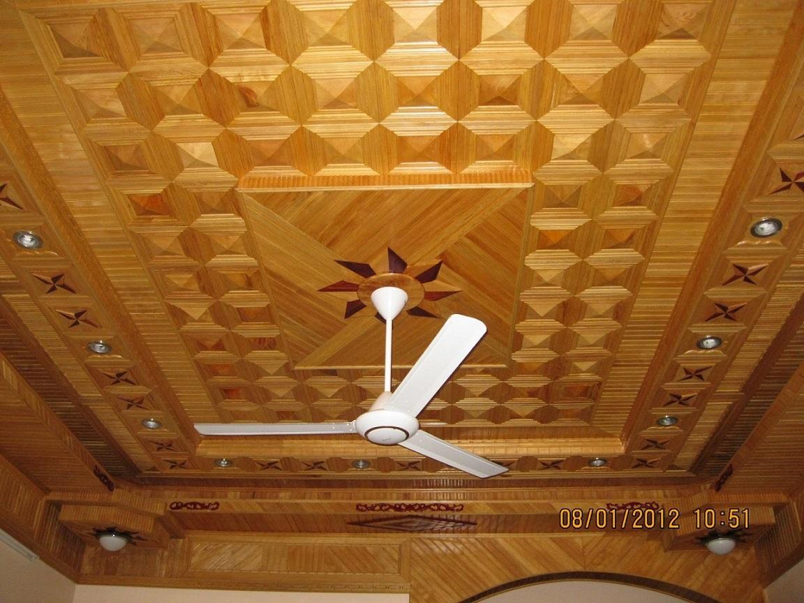 trần gỗ po-mu cao cấp