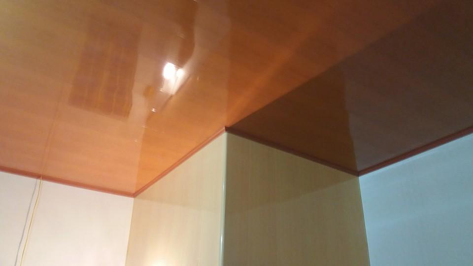 ảnh trần nhựa giả gỗ