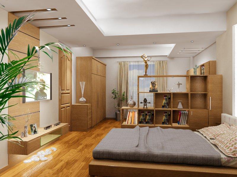 Làm trần thạch cao phòng ngủ 1