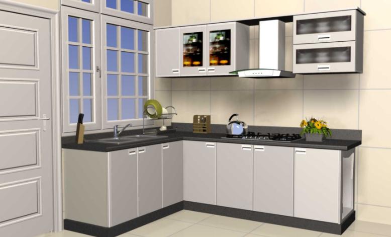 tủ bếp inox mẫu 1