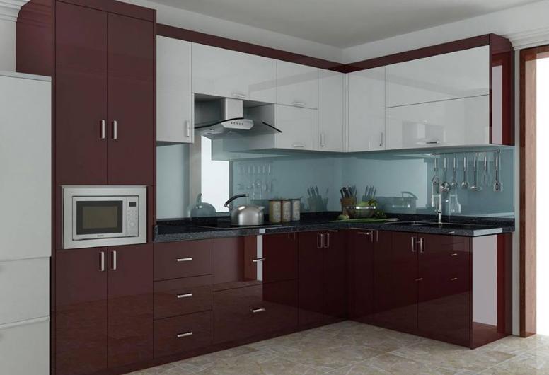 Tủ bếp inox mẫu số 4