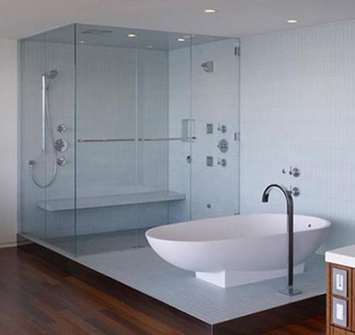 nhà tắm kính đẹp