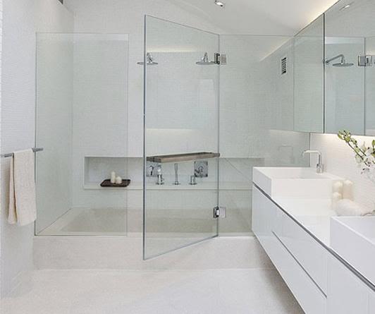 nhà tắm kính đẹp hiện đại
