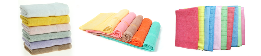 Jaquard towels