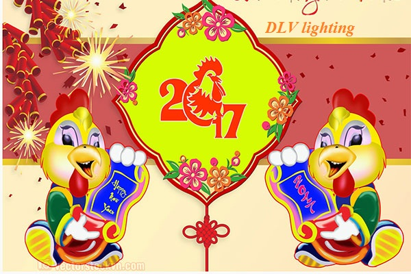 HAPPY  NEW YEAR 2017 CÙNG DLV LIGHTING