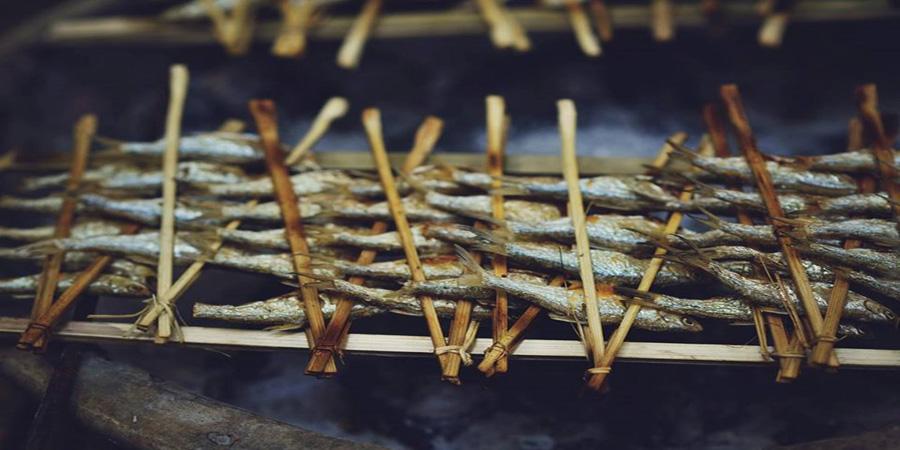 cá nướng pác ngòi
