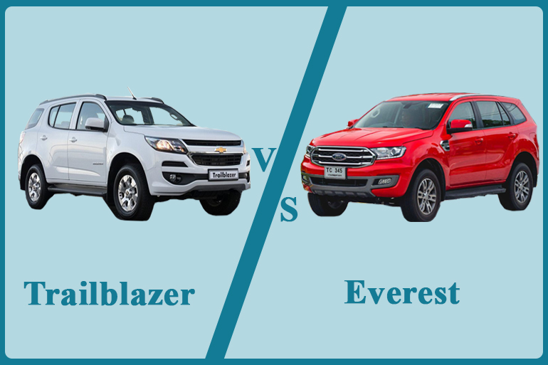 So sánh Ford Everest 2018 với Chevrolet Traiblazer
