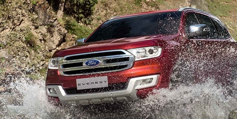 Đánh giá Ford Everest 2.2L AT Trend 2017