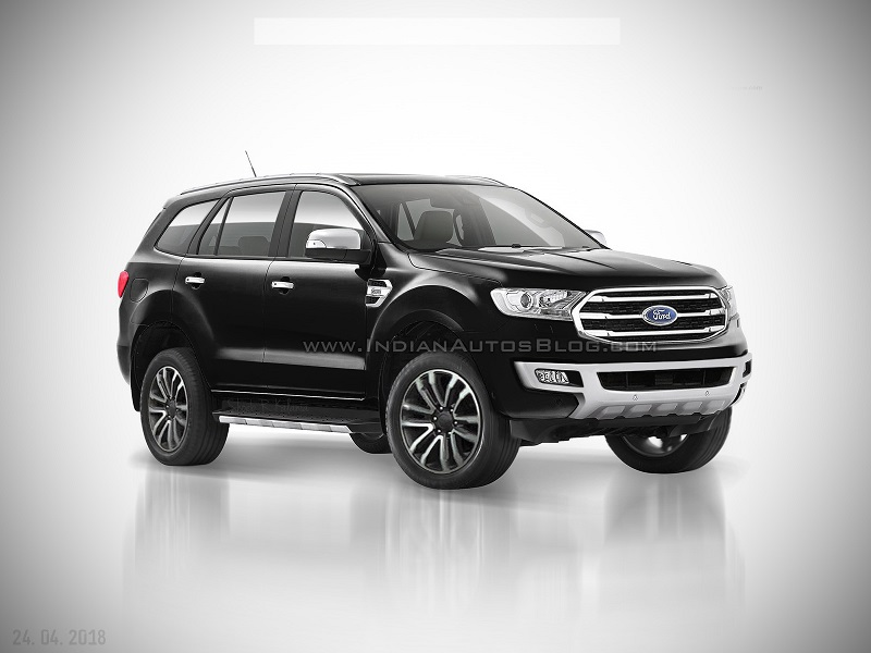 Ford Everest 2.0L Single Turbo Trend MT
