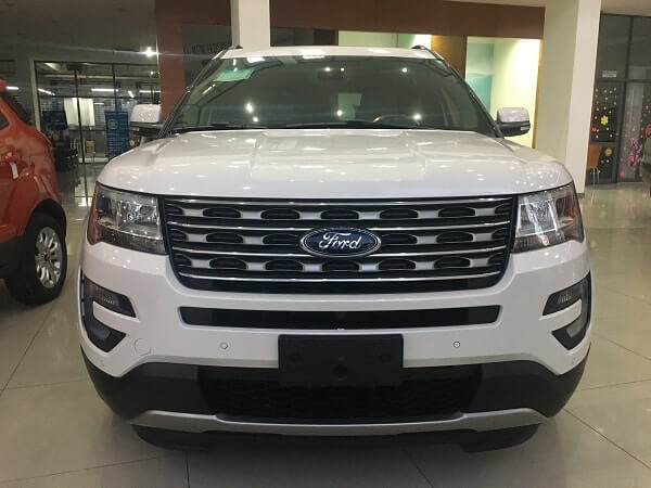 Ford Explorer 2017 2.3L Ecoboost AT Limited mau trang