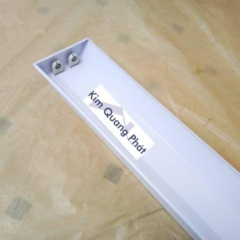 Máng đèn PK hàn đầu tĩnh điện 1m2 2 bóng