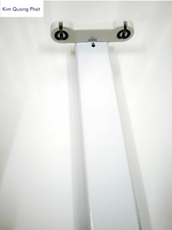 Máng đèn led chân đèn đôi