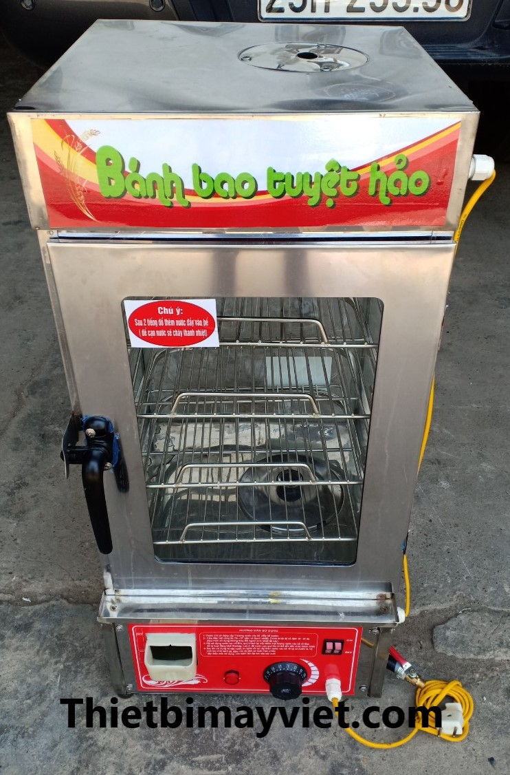 Tủ Hấp Bánh Bao 4 Khay Việt Nam