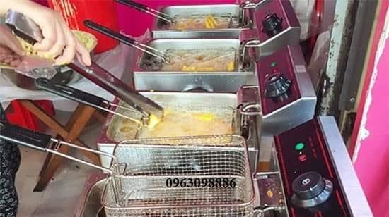 Bếp Chiên Đôi 12L